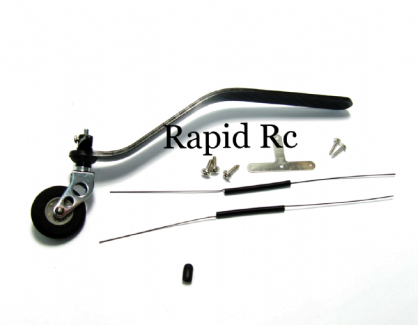 Carbon Fiber Tail wheel set 85cc to 100cc